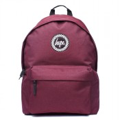 Hype Badge Rugzak Burgundy