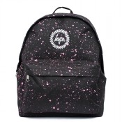 Hype Speckle Rugzak Black/ Pink