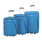 Decent Basic Line 3-Delige Kofferset Cobalt Blue
