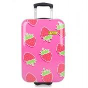 BHPPY Handbagage Koffer 55 Strawberry
