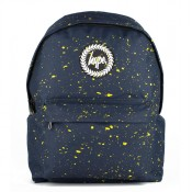 Hype Speckle Rugzak Navy/ Yellow