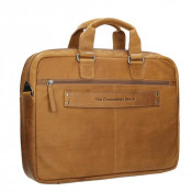 "Chesterfield Samual Business Schoudertas 15"" Cognac"