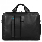 "Piquadro Pulse Two-handled Computer Bag 15.6"" Black"
