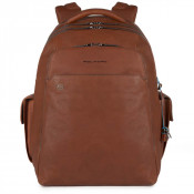 "Piquadro Bagmotic Laptop Backpack 15"" Tobacco"