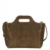 Myomy My Carry Bag Handbag Anaconda Taupe
