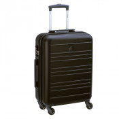 Delsey Carlit 4 Wheel Trolley Cabin Slim 55 Black
