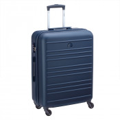 Delsey Carlit 4 Wheel Trolley 66 Navy