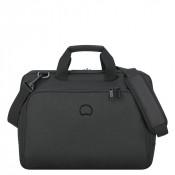 """Delsey Esplanade Laptop Bag 2-CPT 15.6"""" Deep Black"""
