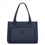 "Delsey Esplanade Business Shopping Bag 14.1"" Navy"