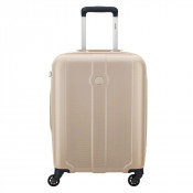 Delsey Kea 4 Wheel Cabin Trolley Slim 55 Gold