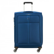 Delsey Maloti Trolley 4 Wheel Exp 68 Navy