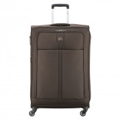 Delsey Maloti Trolley 4 Wheel Exp 78 Brown