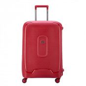 Delsey Moncey Trolley 4 Wheel 70 Red