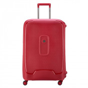 Delsey Moncey Trolley 4 Wheel 76 Red