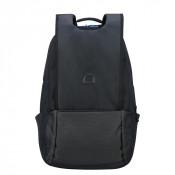"""Delsey Montgallet XL Backpack 17.3"""" Silver"""