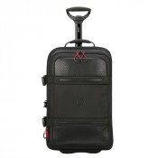 Delsey Montsouris Cabin Trolley 2-Cpt 55 Black