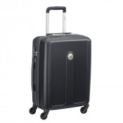 Delsey Planina Slim Cabin Trolley Case 4 Wheel 55 Black
