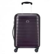 Delsey Segur Slim Cabin Trolley Case 4 Wheel 55 Lilac