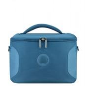 Delsey U-Lite Classic 2 Tote Beauty Case Cyan Blue