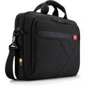 "Case Logic DLC115 15"" Laptop Briefcase Black"