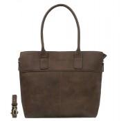 DSTRCT Fletcher Street Womens Business Laptoptas 15.6'' Brown 016520