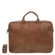 DSTRCT Fletcher Street Business Laptoptas 17'' Cognac 016720