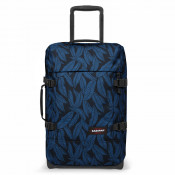 Eastpak Tranverz S Trolley Leaves Blue TSA