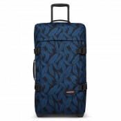 Eastpak Tranverz M Trolley Leaves Blue TSA
