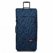 Eastpak Tranverz L Trolley Leaves Blue TSA