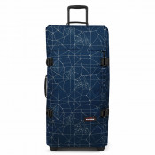 Eastpak Tranverz L Trolley Cracked Blue TSA