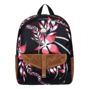 Roxy Carribean Rugzak Anthracite Mistery Floral
