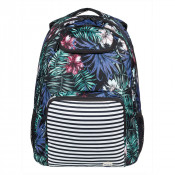 Roxy Shadow Swell Backpack Anthracite Swim Belharra Flower