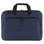 "Delsey Esplanade Laptop Bag 1-CPT 15.6"" Navy"