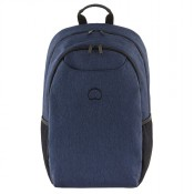 "Delsey Esplanade Laptop Backpack M 1-CPT 15.6"" Navy"