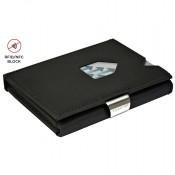 Exentri Wallet met RFID Bescherming Nubuck Black