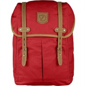 FjallRaven Rucksack No. 21 Medium Rugzak Red