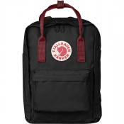 "FjallRaven Kanken Laptop 13"" Rugzak Black-Ox Red"