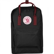 "FjallRaven Kanken Laptop 15"" Rugzak Black-Ox Red"