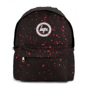 Hype Speckle Rugzak Black/ Red