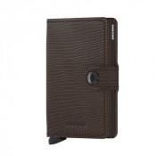Secrid Mini Wallet Portemonnee Rango Brown Brown