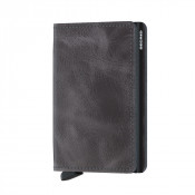 Secrid Slim Wallet Portemonnee Vintage Grey Black