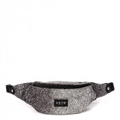 HXTN Supply One Bumbag Heuptas Glitter Fade Silver Black