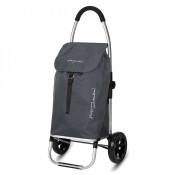 Playmarket Go Two Compact Boodschappentrolley Grey