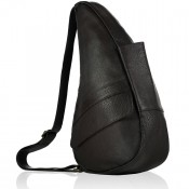The Healthy Back Bag Leather M Coffee Bean Brown