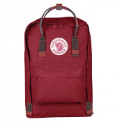 "FjallRaven Kanken Laptop 15"" Rugzak Deep Red/ Random Blocked"