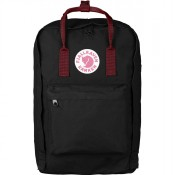 "FjallRaven Kanken Laptop 17"" Rugzak Black/Ox Red"
