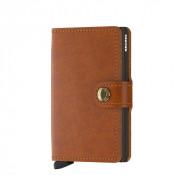 Secrid Mini Wallet Portemonnee Original Cognac Brown
