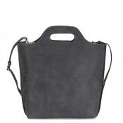 Myomy My Carry Bag Shopper Medium Hunter Off Black
