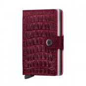 Secrid Mini Wallet Portemonnee Nile Red