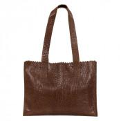 Myomy My Paper Bag Handbag Zip Bubble Brandy